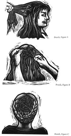 Pentacle Hair Braids Spiritualitea